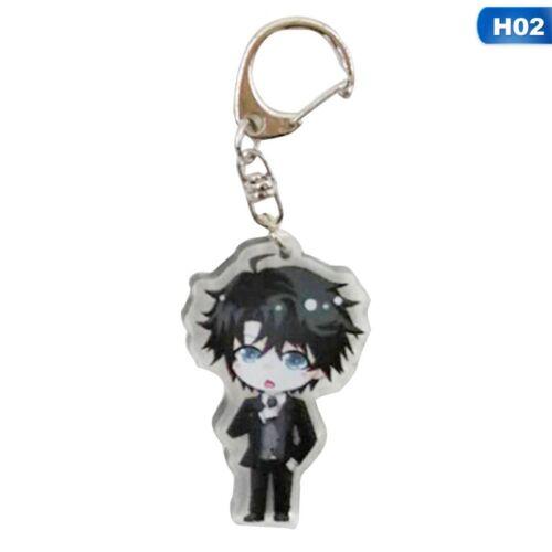 Game Anime Mystic Messenger Keychain Keyring Pendants Costume Jewelry New
