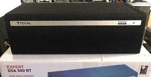 Details about New Focal DSA-500RT Digital Signal Processor,Sub Box Plus 2  Channel Amp!SQ NIB