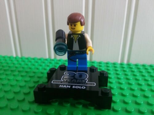LEGO STAR WARS 20th Anniversary Han Solo MINIFIG brand new from Lego set #75262