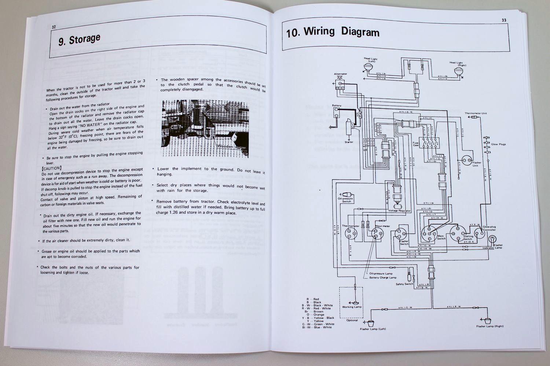 Kubota L285 Wiring Diagram Explore Schematic B6200 Diesel Tractor Operators Owners Manual Parts Catalog Rh Ebay Com Alternator Diagrams