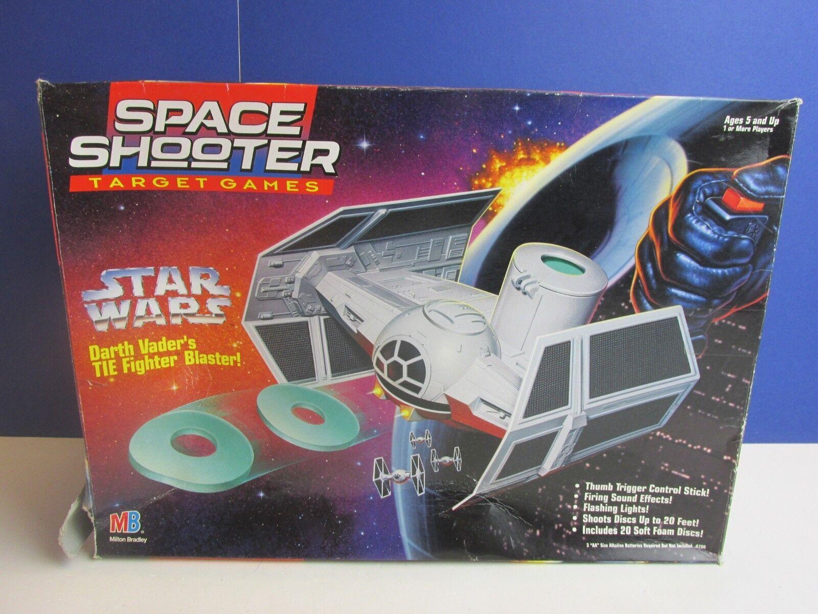 RARE star wars DARTH VADER TIE FIGHTER blaster space shooter TARGET GAME MB 58y
