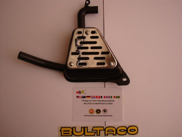 BULTACO MATADOR MK3 EXHAUST SILENCER NEW BULTACO MATADOR MODEL 26 MK3 EXHAUST