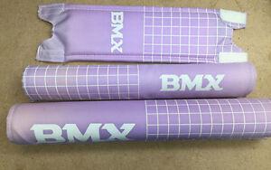 REDLINE BMX  Classic STEM HANDLEBAR Pad Set Black VINTAGE OLD SCHOOL new