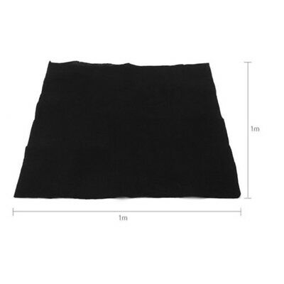 1mx1m 10mm//15mm Home Air Conditioner Activated Carbon Purifier Pre Filter Fabric