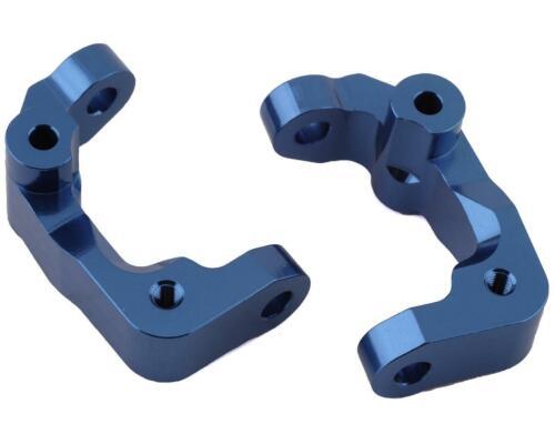 ST Racing Concepts DR10 Aluminum Caster Blocks Blue 2 SPTSTC91417CB