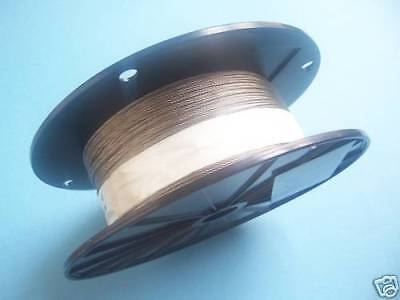 """304 Stainless Steel Wire Rope Cable Made in Korea 1//8/"""" 250 ft reel 7x7"""