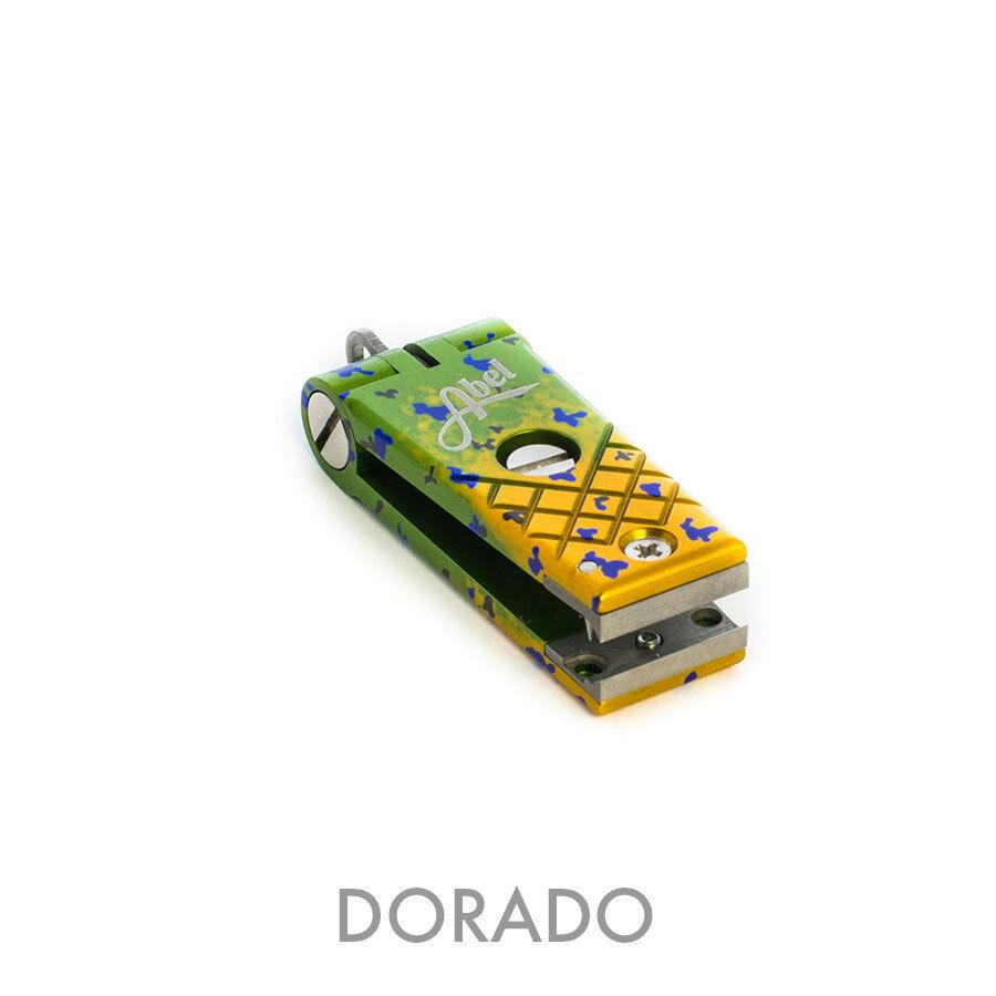 Nuevo Cortador Cortador de línea de pesca con mosca Abel Dorado Color En Stock Envío Gratis en EE. UU.