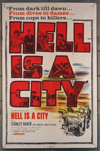 HELL IS A CITY 724 1960