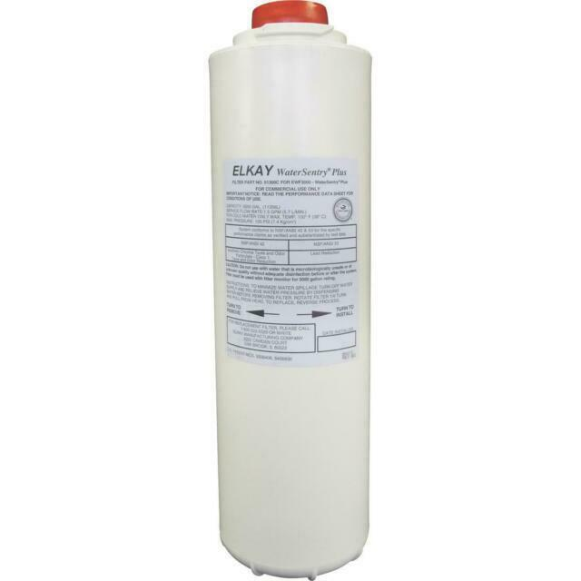 Elkay 51300C WaterSentry Plus Replacement Bottle Filter for EWF3000 3000 Gal