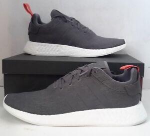 Details about Men's ADIDAS ORIGINALS NMD_R2 BY3014 Grey Future Harvest Sneaker SZ 10