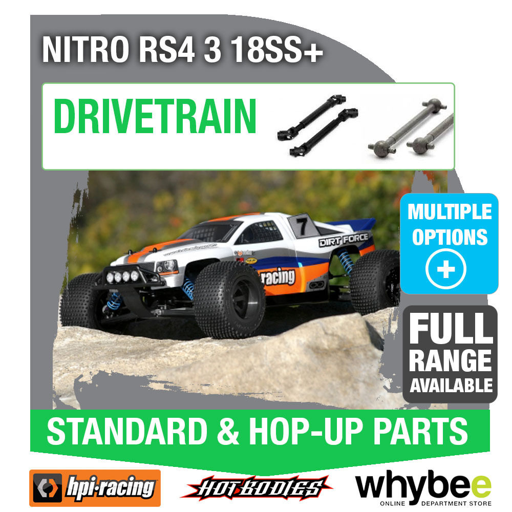 HPI NITRO RS4 3 18SS+ [Drivetrain Parts] Genuine HPi Racing R C Parts