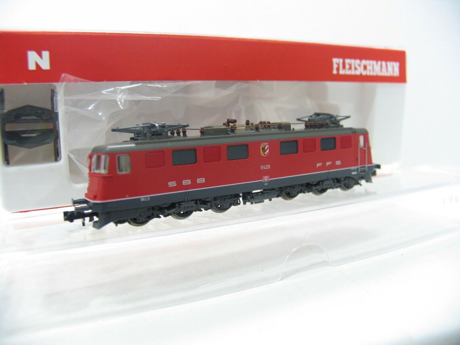 Fleischmann 737203 e-Lok AE 6 6  Altdorf  rojo de los SBB nh93