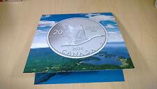 2014 CANADA GOOSE $20 FOR 20 - 99.99% SILVER