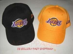 Los-Angeles-Lakers-LA-NBA-Baseball-Hat-Cap-One-Size-New-Choose-Your-Style