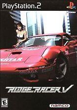 Ridge Racer V (Sony PlayStation 2, 2000)