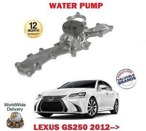 FOR LEXUS GS250 2.5 4GR-FSE 2012-> NEW WATER PUMP