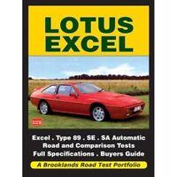 Lotus Excel Road Test Portfolio paper book