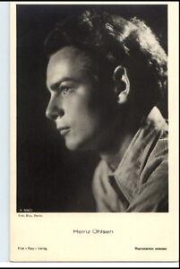 HEINZ-OHLSEN-um-1950-60-Portraet-AK-Film-Buehne-Theater-Schauspieler-Foto-Verlag