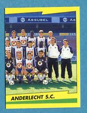 FOOTBALL 98 BELGIO Panini -Figurina-Sticker n. 27 - ANDERLECHT SQUADRA DX -New