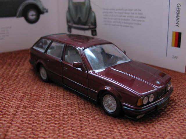 1 43 GAMA BMW 525i touring + 735i (doors & roof opened) 2pcs diecast