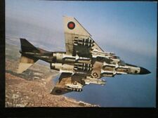POSTCARD AIR MCDONNELL F-4M PHANTHON FGR-2 JET