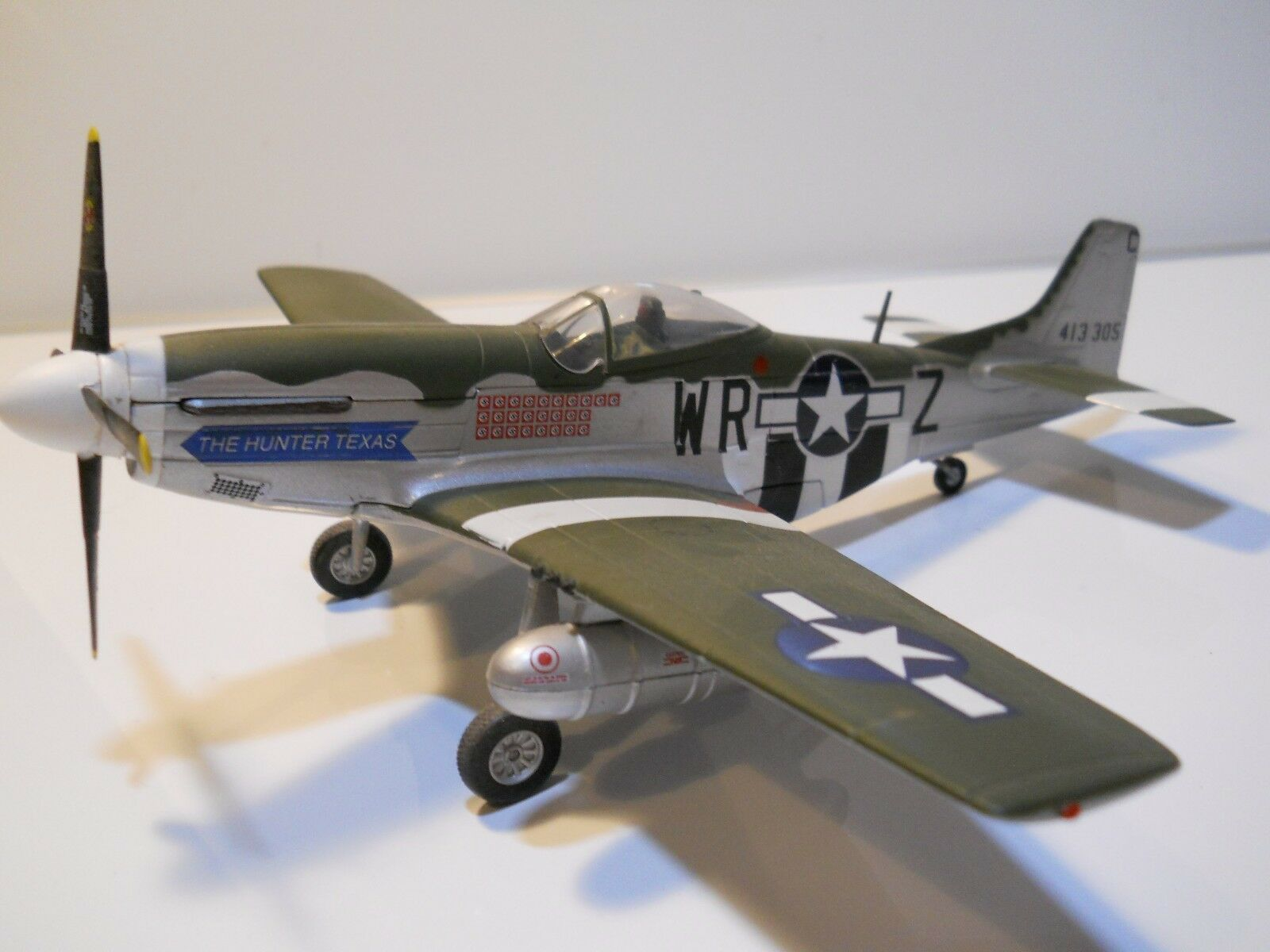 Franklin Mint p51 cazador de Texas