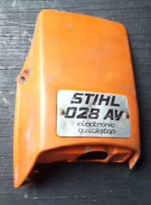 Details about STIHL 028 Top Cover Air Filter Muffler Cowl Hood