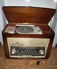 Quelle Simonetta Röhrenradio Baujahr 1958 mit Plattenspieler sehr selten rar