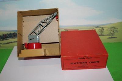 Affidabile Hornby Trains O Gauge Platform Crane 42330 Boxed Excellent Condition