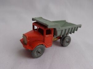 Vintage Matchbox Lesney Moko No6 Euclid Quarry Volquete Camión adorno de oro en muy buena condición!