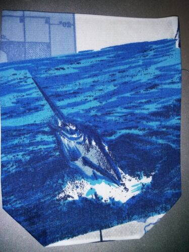 """One Iron on or Sew on ready made HAWAIIAN pocket for T Shirt ~ 3 7//8/"""" x 4 7//8/"""""""