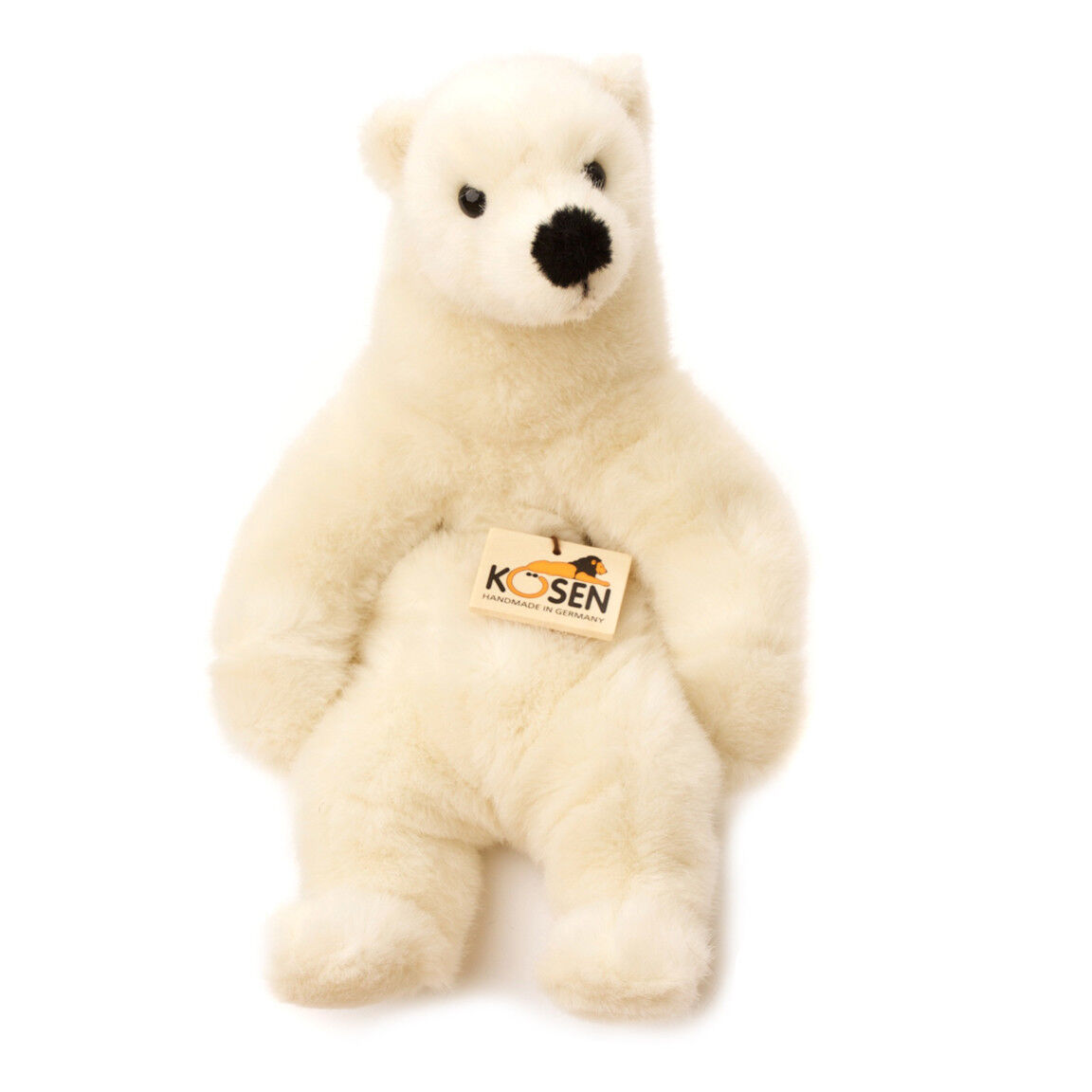 Polar Bear 'Linn' collectable plush soft toy - Kosen   Kösen - 4750