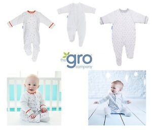 9-12m The Gro Company Be a Dazzler Baby Quilted Grosuit Sleeping Soft Cotton