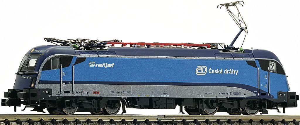 Fleischmann 781873 Spurn E-Lok rh1216 Railjet DC Ep. vi DCC SOUND Nuovo/Scatola Originale