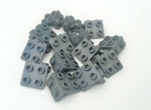 used HP729 Blue 14x Lego Dark Grey 2 x 2 Angle Plates