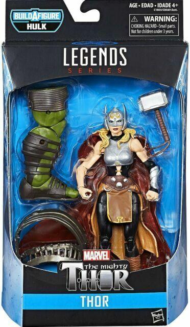 "Mighty Thor *NEW SERIES 6/"" ACTION FIGURE Female Thor MARVEL LEGENDS BAF HULK"