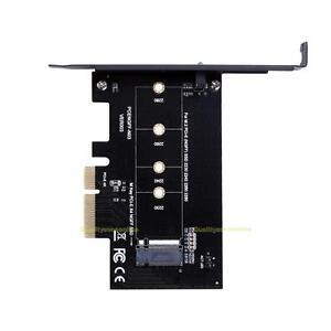 NGFF-M-2-M-Key-PCI-E-PCI-Express-x4-Adapter-Karte-fuer-SSD-2230-2242-2260-2280