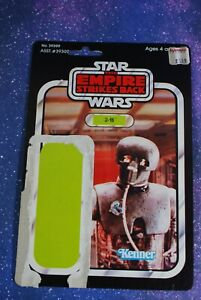 VINTAGE Star Wars CARD BACK ~ 2-1B ACTION FIGURE KENNER cardback cardboard 21b
