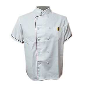 Uniforms & Work Clothing Latest Collection Of Short Sleeve Kitchen Cooker Working Uniform Chef Waiter Waitress Coat Jacket