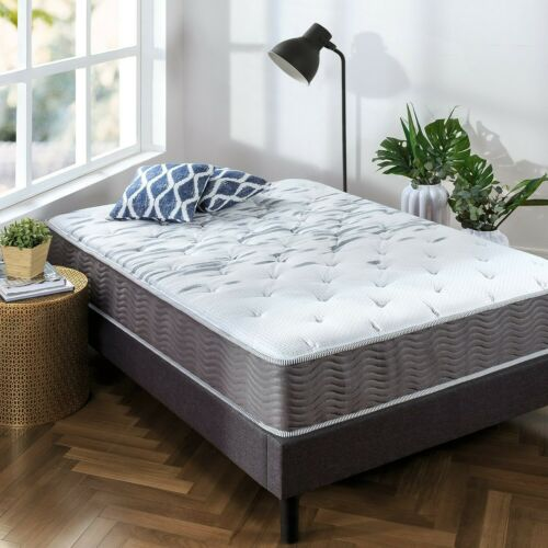 Full New Zinus Extra Firm 10 Inch Big /& Tall Support Plus Spring Mattress