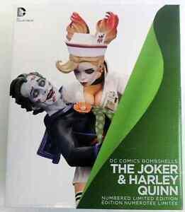 Dc Comics Batman Univers: The Joker & Harley Quinn Bombshells Statue en porcelaine