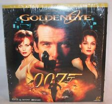 Laserdisc {8} * James Bond 007 * Goldeneye AC-3 Pierce Brosnan Sean Bean LTRBX