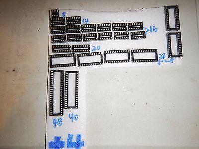 Commodore Plus/4 computer full socket kit