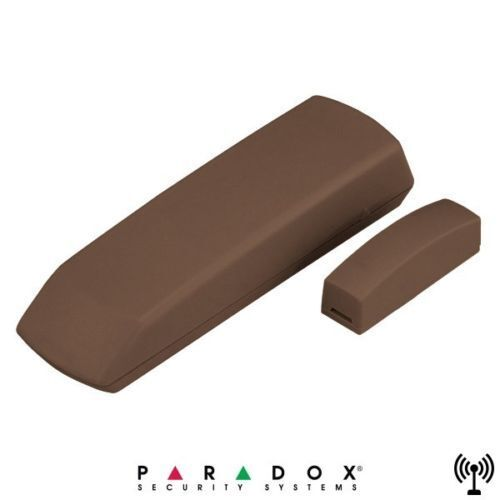 PARADOX DCTXP2//86 Versione a 868MHz Contatto magnetico supervisionato per porte e finestre 2 canali radio indipendenti Colore Bianco