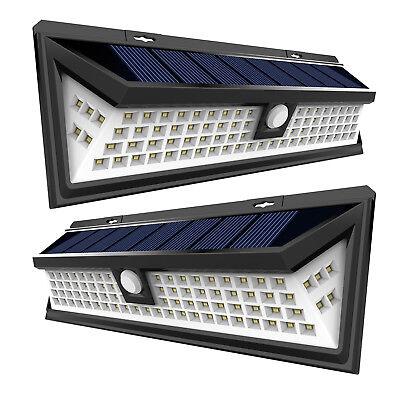 RV LED Solar Porch Light rectangle clear lens camper RV trailer white exterior W
