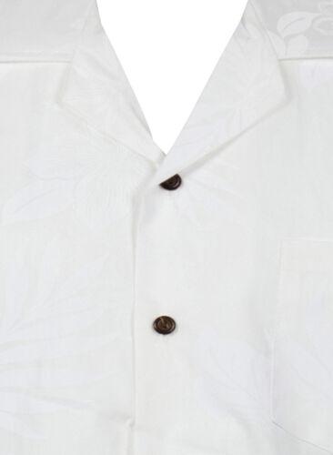 Bianco Ombra Shadow Hawaiana Pla Camicia Original qzRpUfwZ