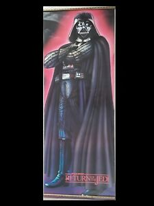 Darth Vader Poster From 1983 STAR WARS Return Of The Jedi Rare and Vintage!!
