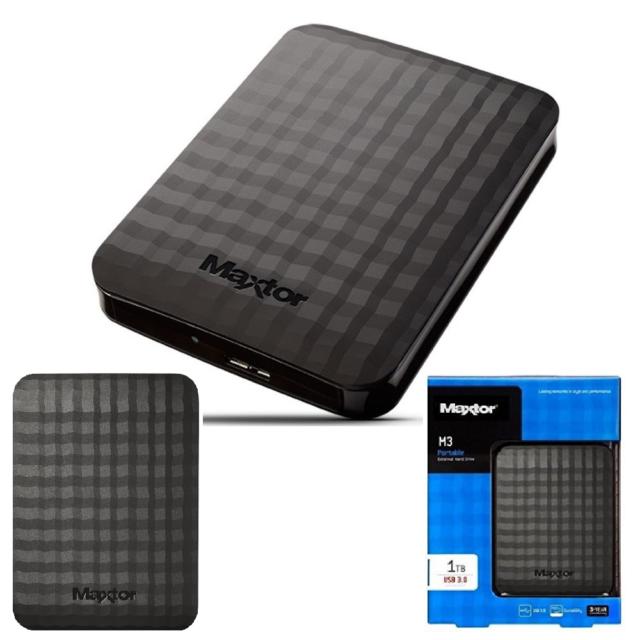 "HARD DISK HD HDD ESTERNO 1TB 2,5"" AUTOALIMENTATO MAXTOR USB 3.0 STSHX-M101TCBM"