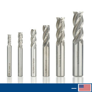 "1Pcs HSS 5//16 X 5//16/"" CNC Shank 4 Flute End mill Milling Machine Cutter Bit Tool"