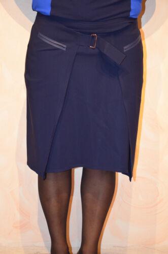 Marithe Taille Marine Neuve Bleu Valeur 42 Girbaud Étiquette Francois 320€ Jupe XwqEnH1n